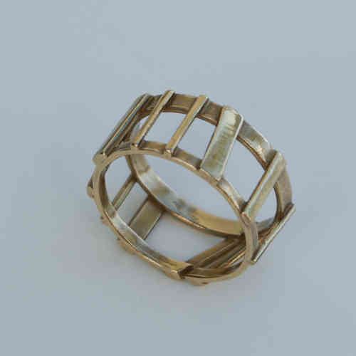 V549B Ring in Bronze